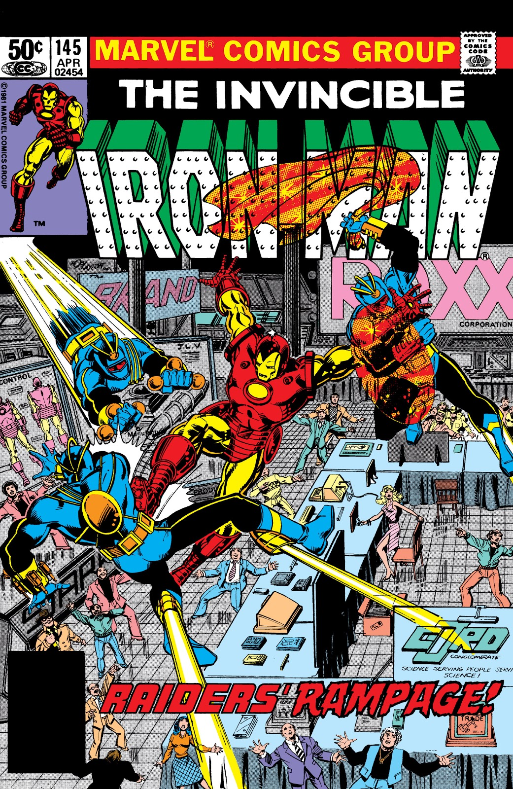 Iron Man Vol 1 145
