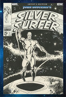 John Buscemas Silver Surfer Artists Edition Vol 1 1