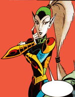 Lady Vermin (Counter-Earth) (Earth-TRN583) from Spider-Man Unlimited Vol 2 1 0001.jpg