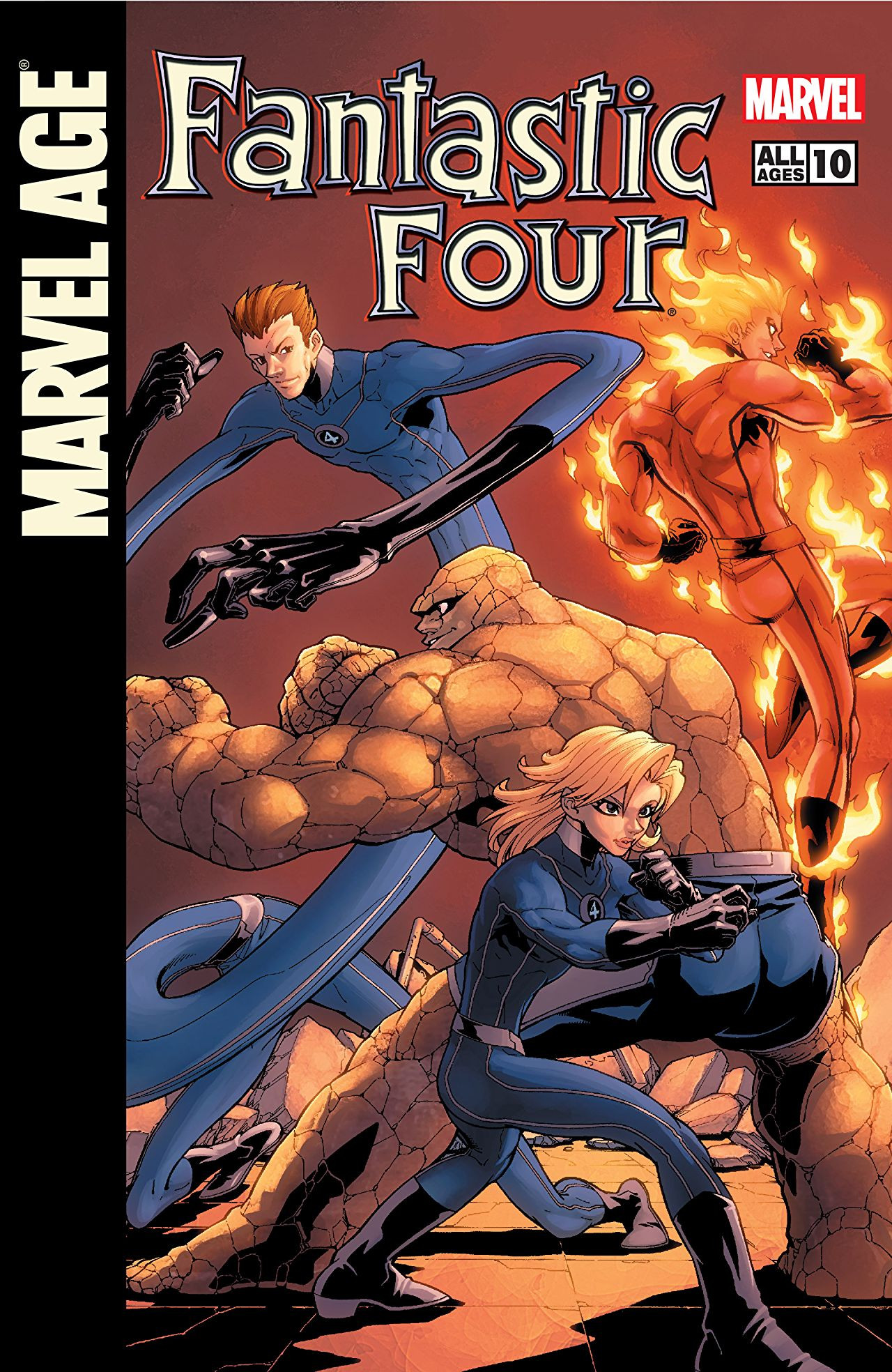 Marvel Age: Fantastic Four Vol 1 10
