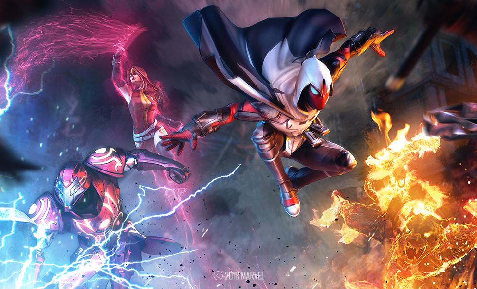 Avengers (Warp World) (Earth-TRN012)