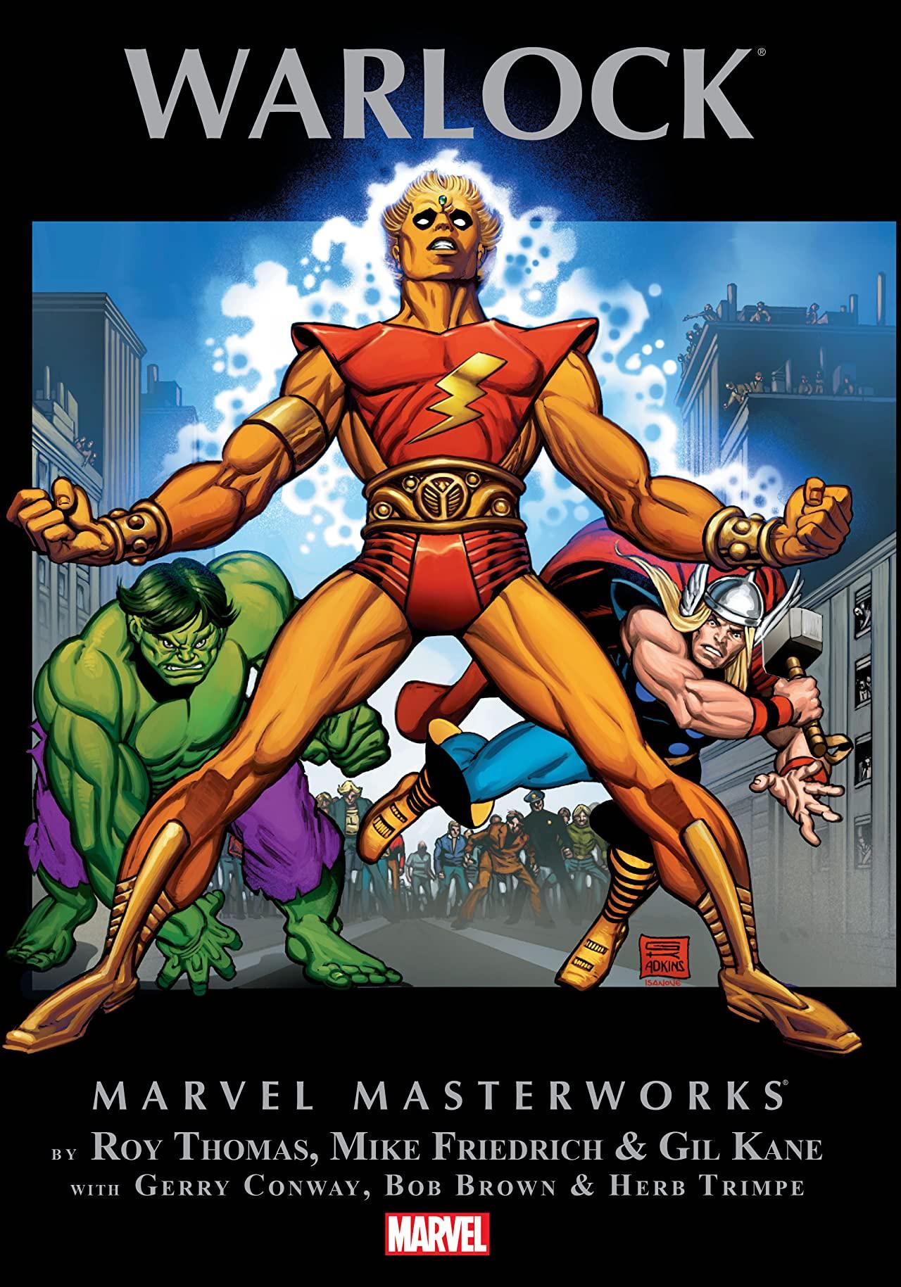 Marvel Masterworks: Warlock Vol 1 1