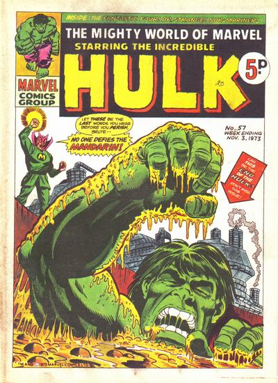 Mighty World of Marvel Vol 1 57
