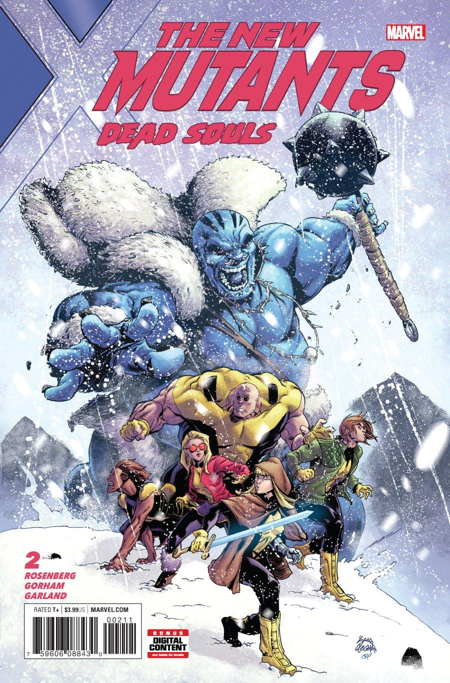 New Mutants: Dead Souls Vol 1 2