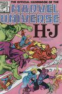 Official Handbook of the Marvel Universe Vol 1 5