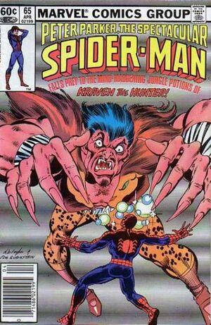 Peter Parker, The Spectacular Spider-Man Vol 1 65.jpg
