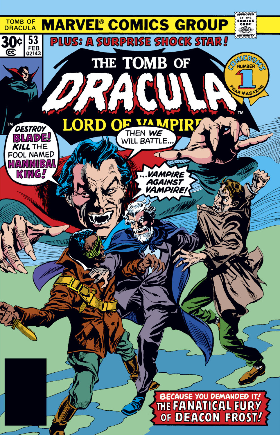 Tomb of Dracula Vol 1 53