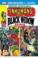 True Believers Black Widow - Amazing Adventures Vol 1 1