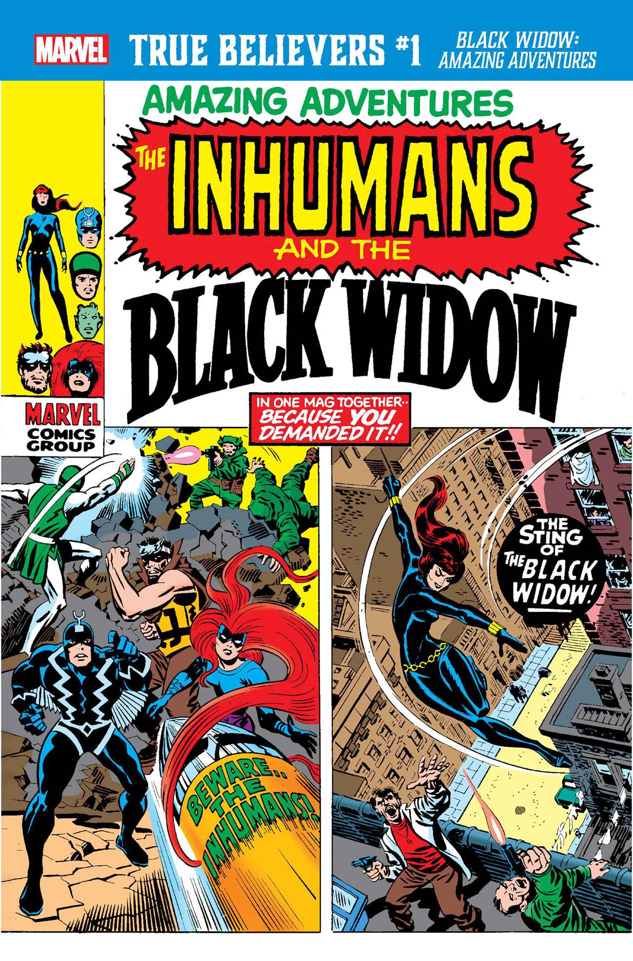 True Believers: Black Widow - Amazing Adventures Vol 1 1