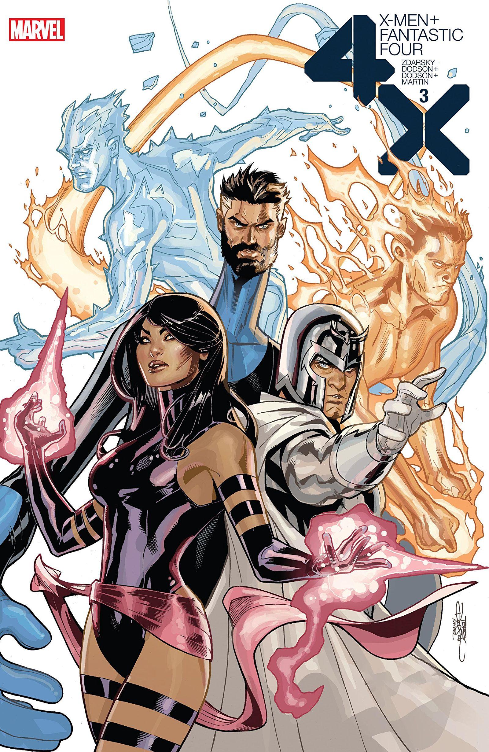X-Men / Fantastic Four Vol 2 3