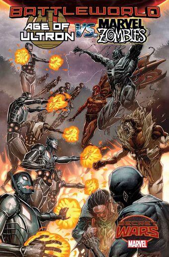 Age of Ultron vs Marvel Zombies #1 Blank Variant Edition  Marvel Comics CB17313