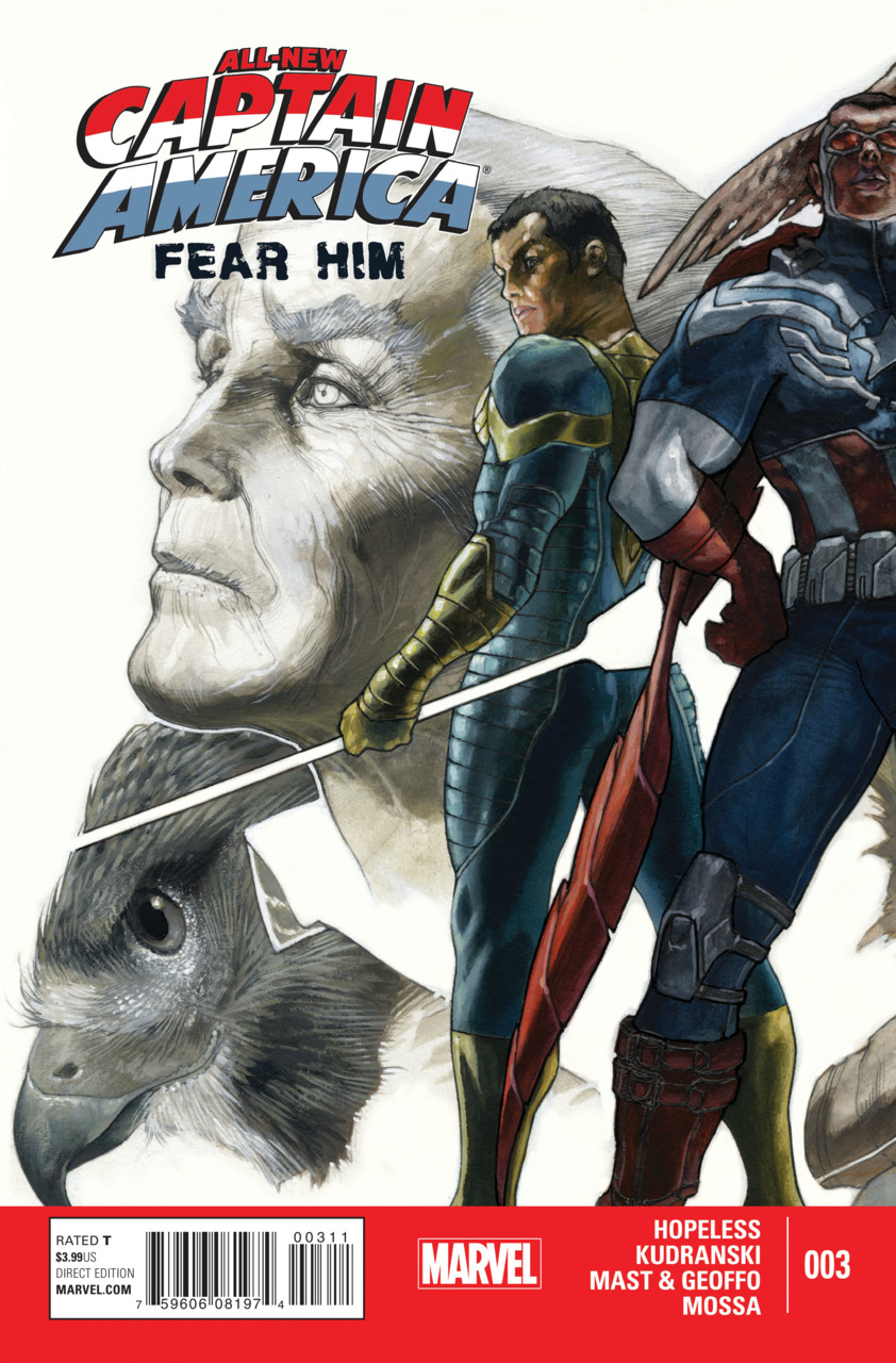 All-New Captain America: Fear Him Vol 1 3
