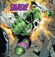 Hive (Poisons) (Earth-17952) Members-Poison Hulk from Venomverse Vol 1 1 001.png
