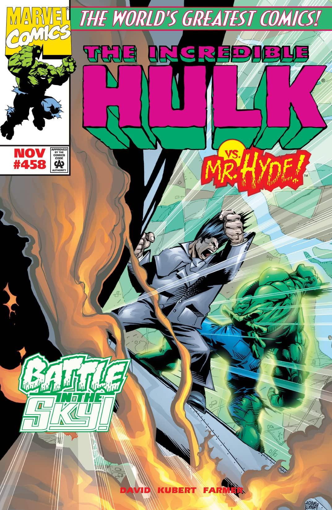 Incredible Hulk Vol 1 458