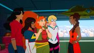 Kamala Khan, Gwendolyn Stacy, Doreen Green, America Chavez & Shuri (Earth-TRN684) from Marvel Rising Operation Shuri 001
