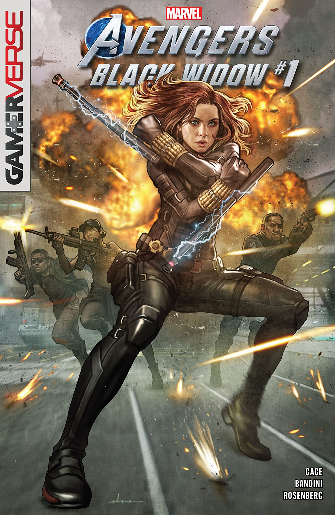 Marvel's Avengers: Black Widow Vol 1 1