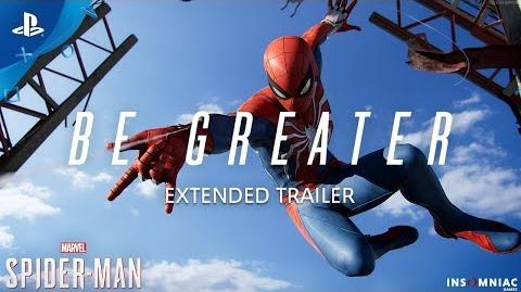 Marvel's Spider-Man – Be Greater Extended Trailer PS4