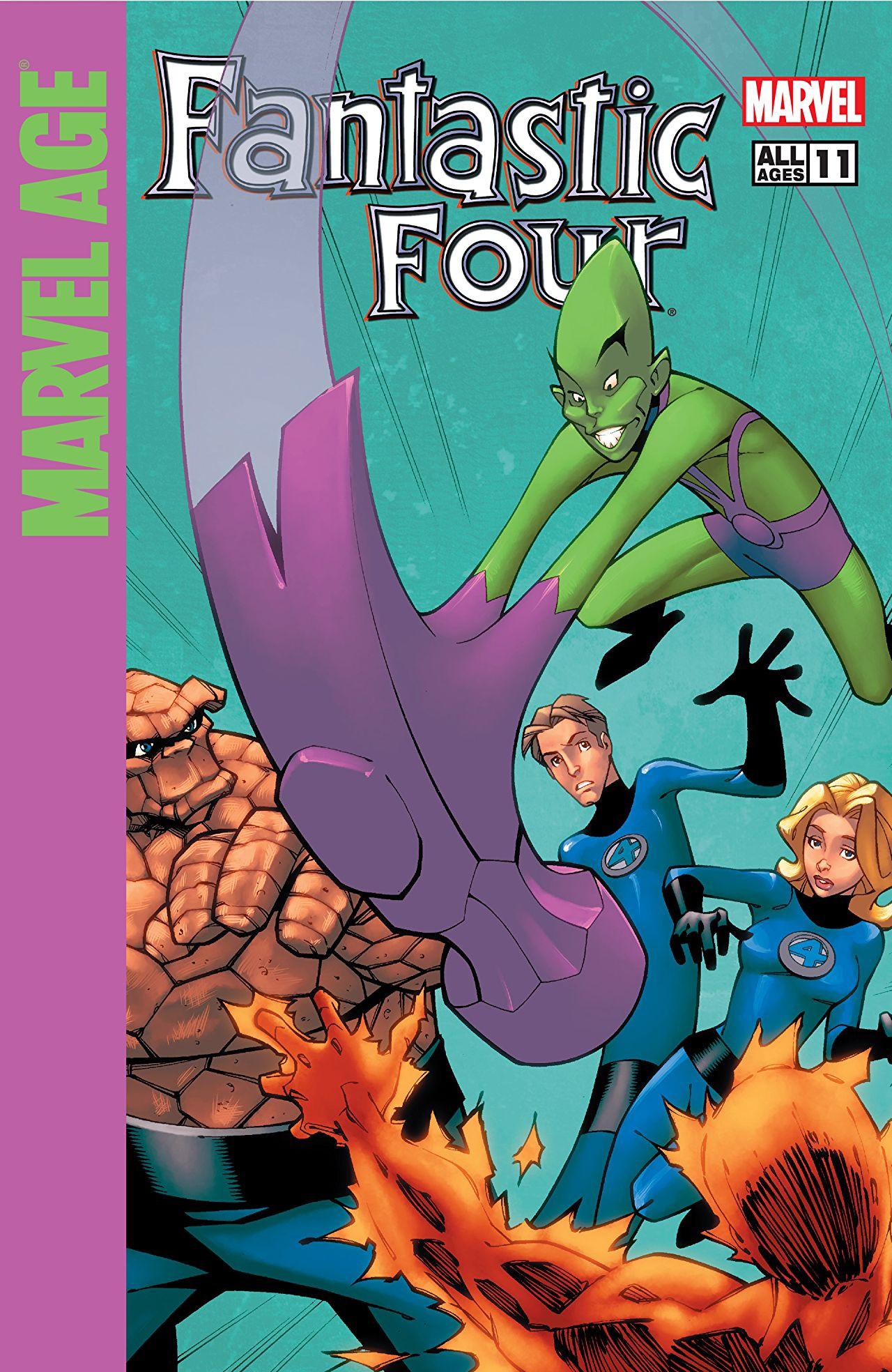 Marvel Age: Fantastic Four Vol 1 11