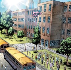 Midtown High School from Spider-Man Season One Vol 1 1.JPG
