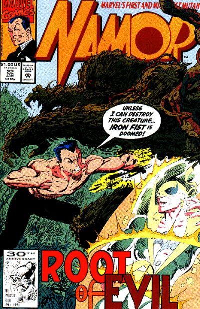 Namor the Sub-Mariner Vol 1 22