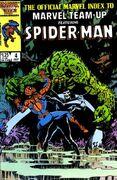 Official Marvel Index to Marvel Team-Up Vol 1 4