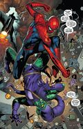 Peter Parker (Earth-616) Vs. Norman Osborn (Earth-616) from Amazing Spider-Man Vol 1 798 001