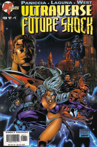 Ultraverse Future Shock Vol 1 1