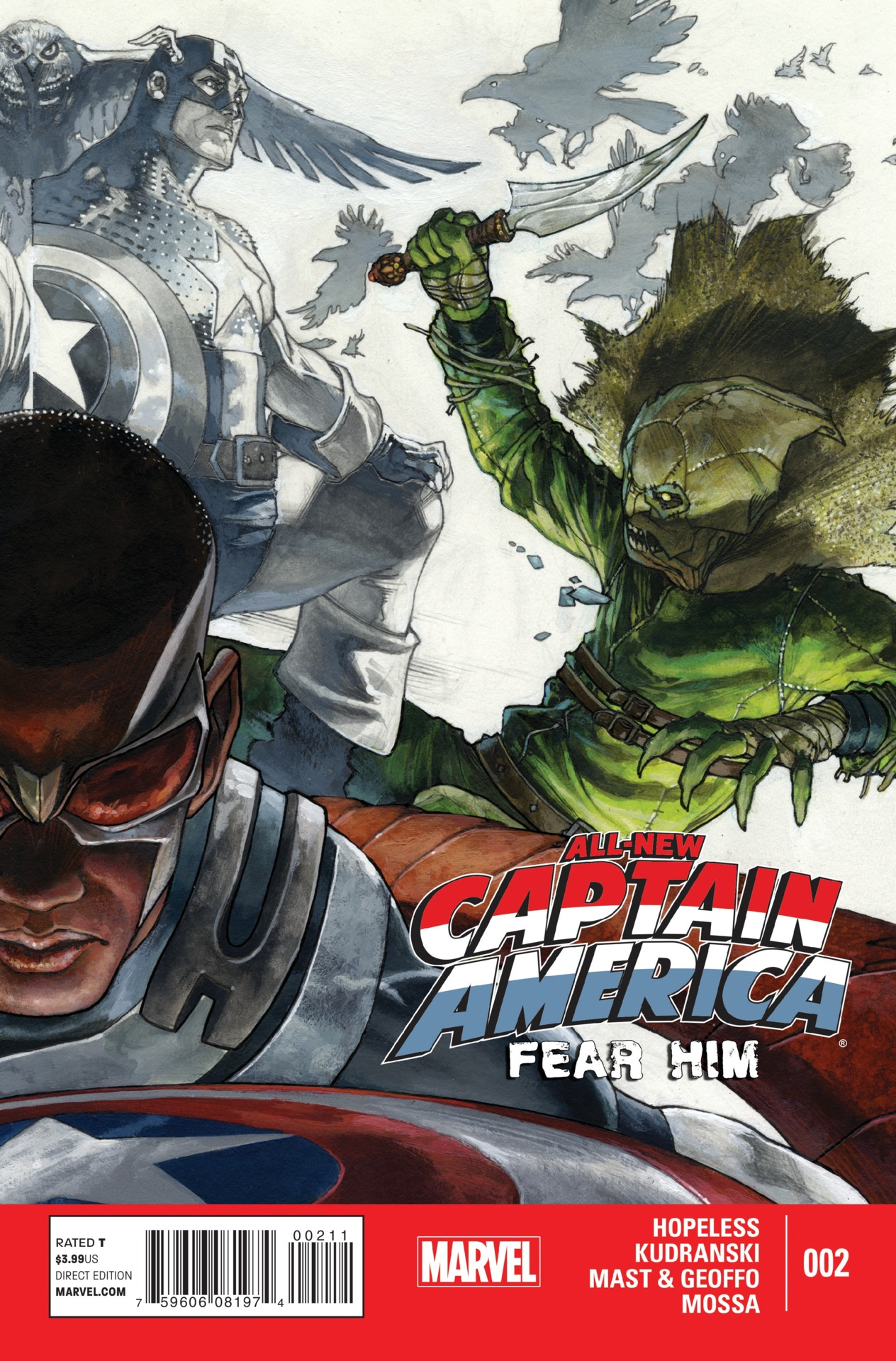 All-New Captain America: Fear Him Vol 1 2