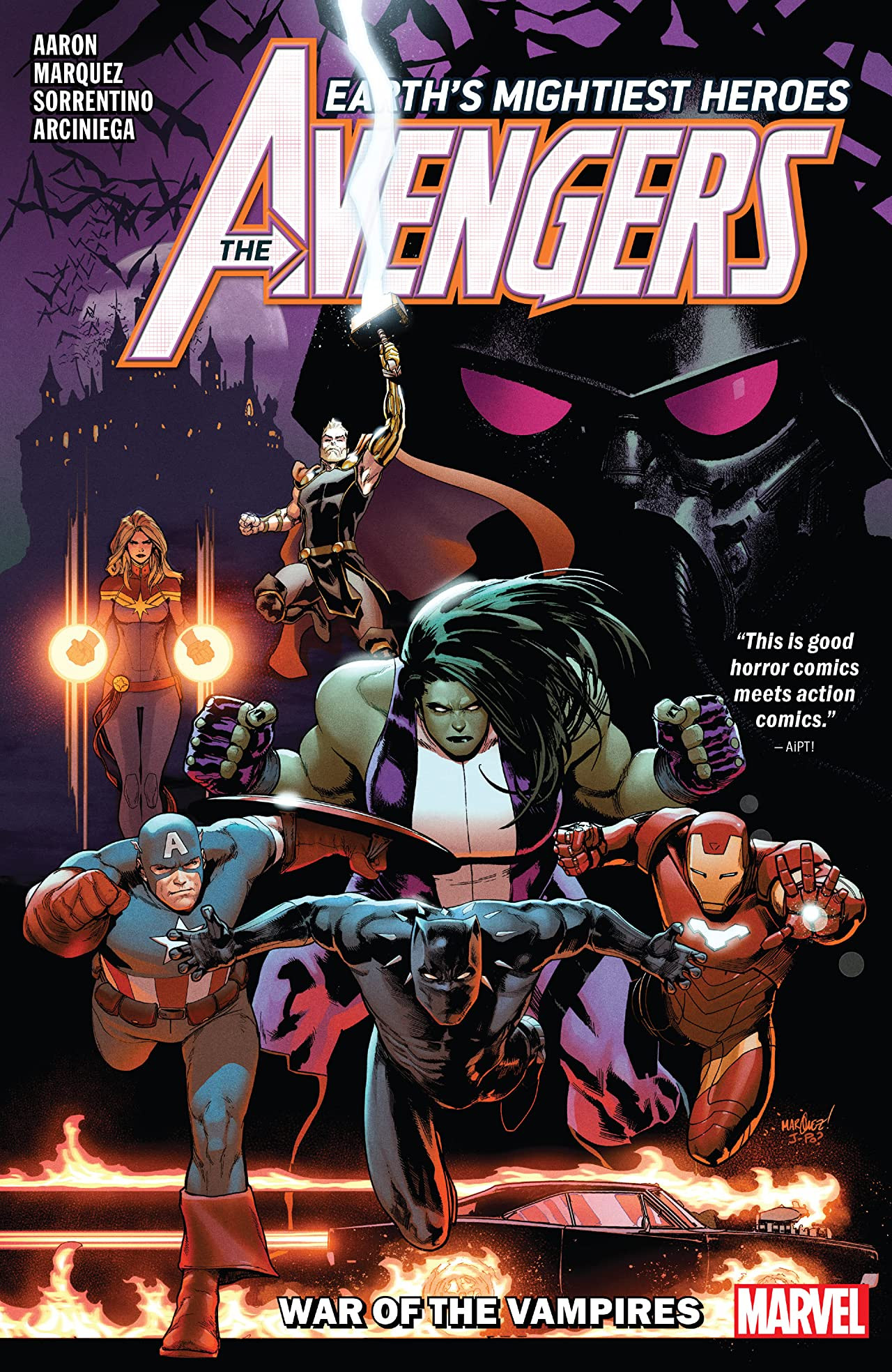 Avengers by Jason Aaron Vol 1 3: War of the Vampires