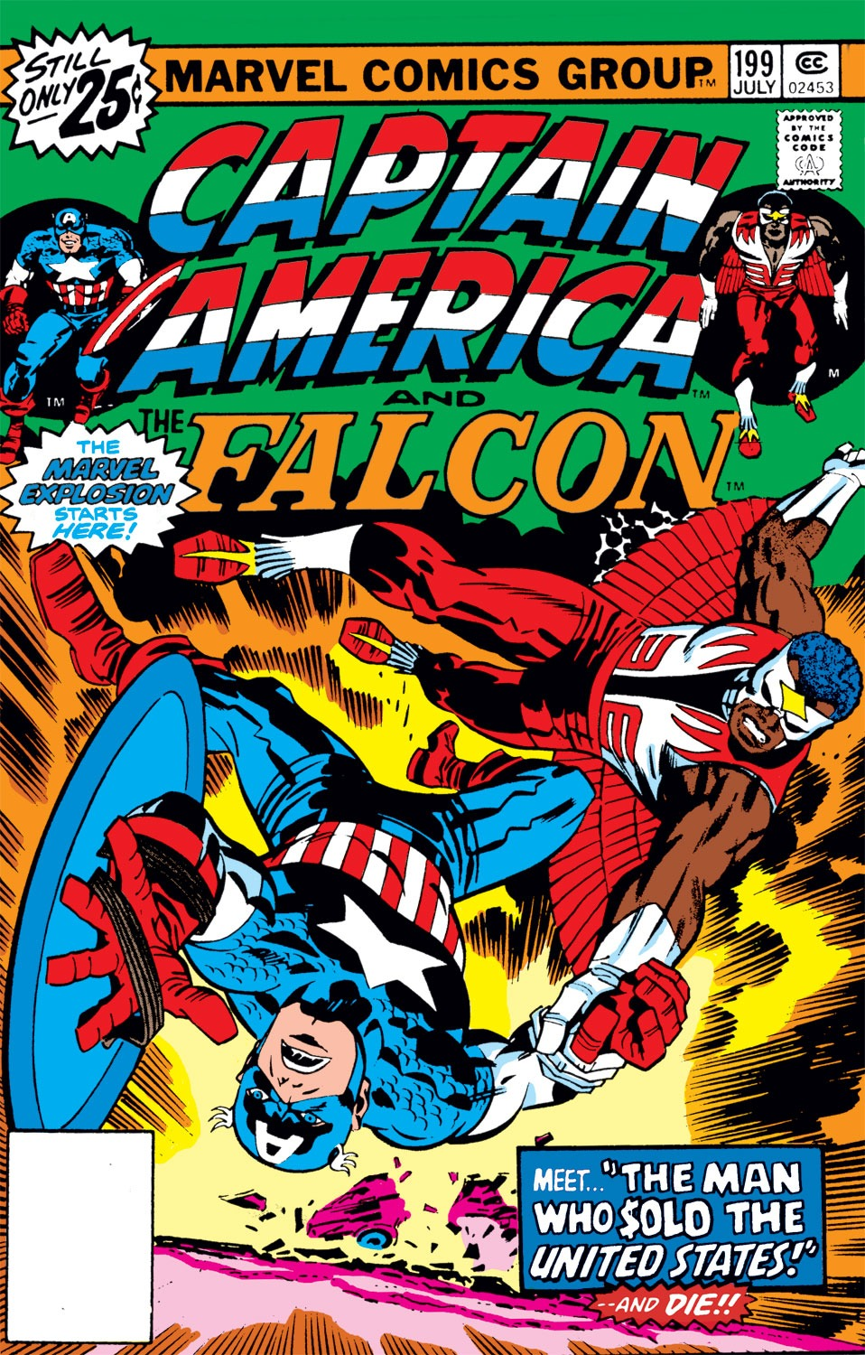 Captain America Vol 1 199