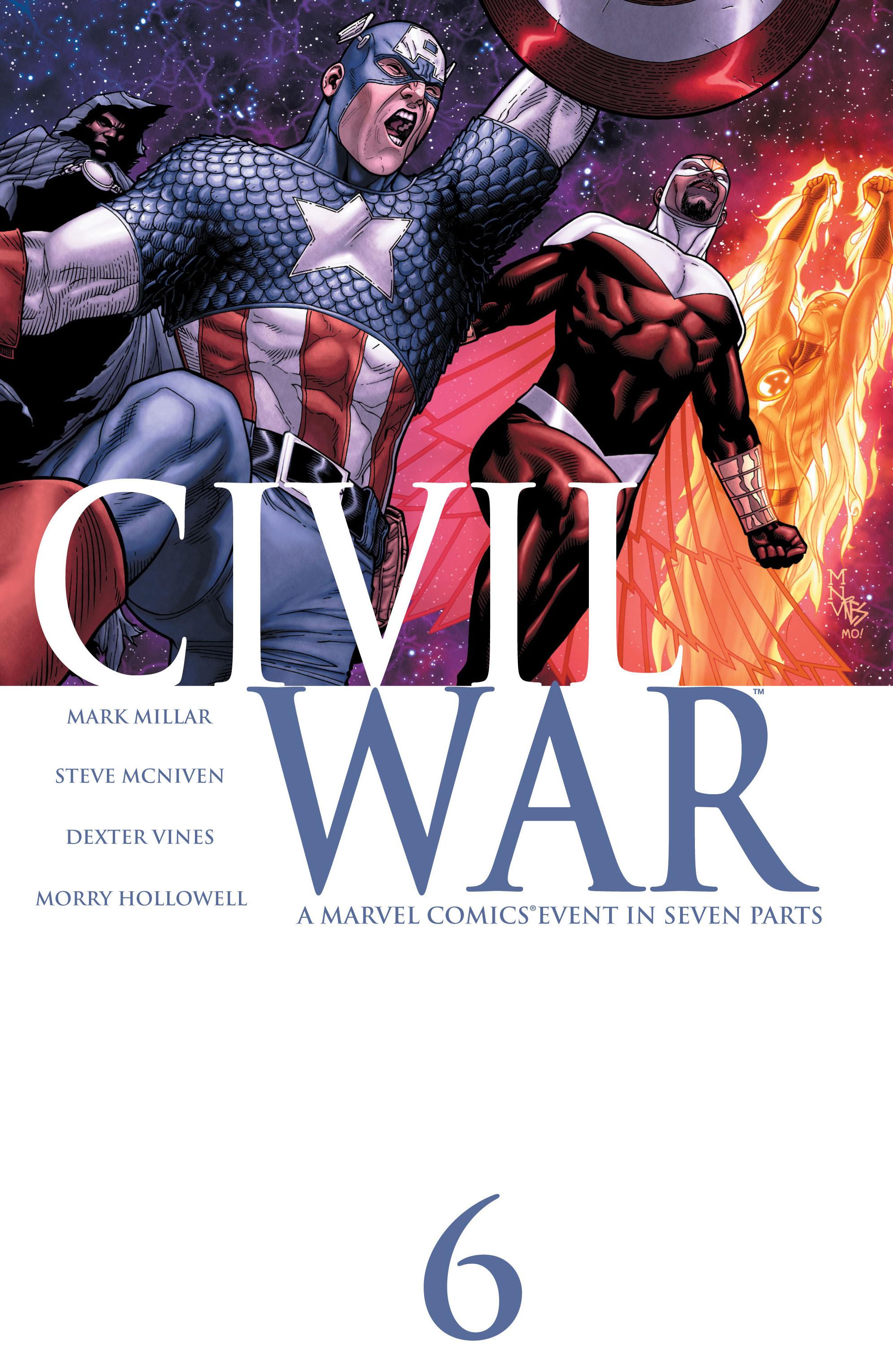 Civil War Vol 1 6