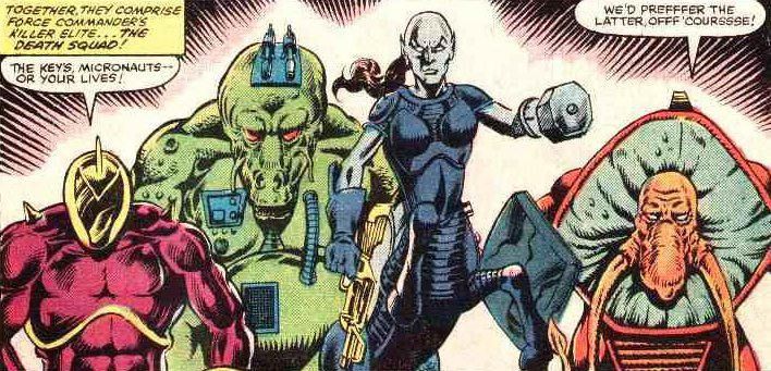 Death Squad (Microverse) (Earth-616) from Micronauts Vol 1 35 0001.jpg