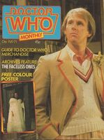 Doctor Who Monthly Vol 1 71