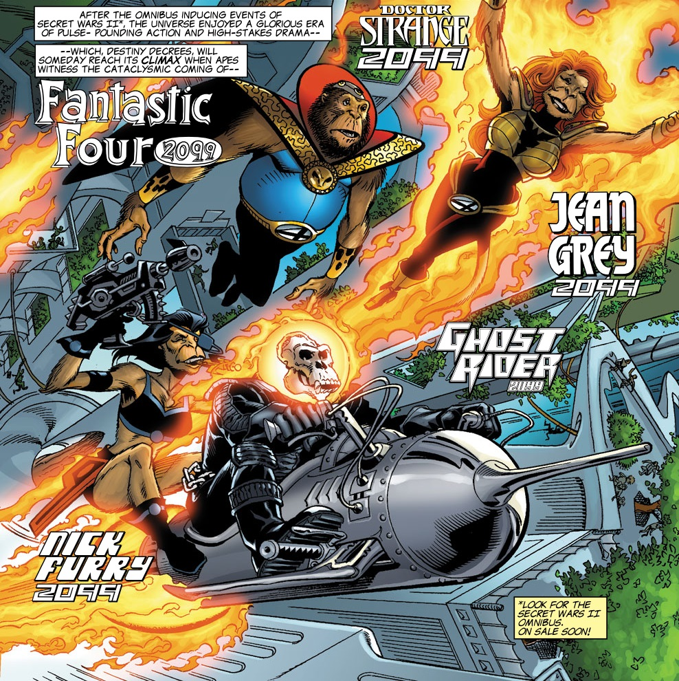 Fantastic Four (2099) (Earth-8101)/Gallery