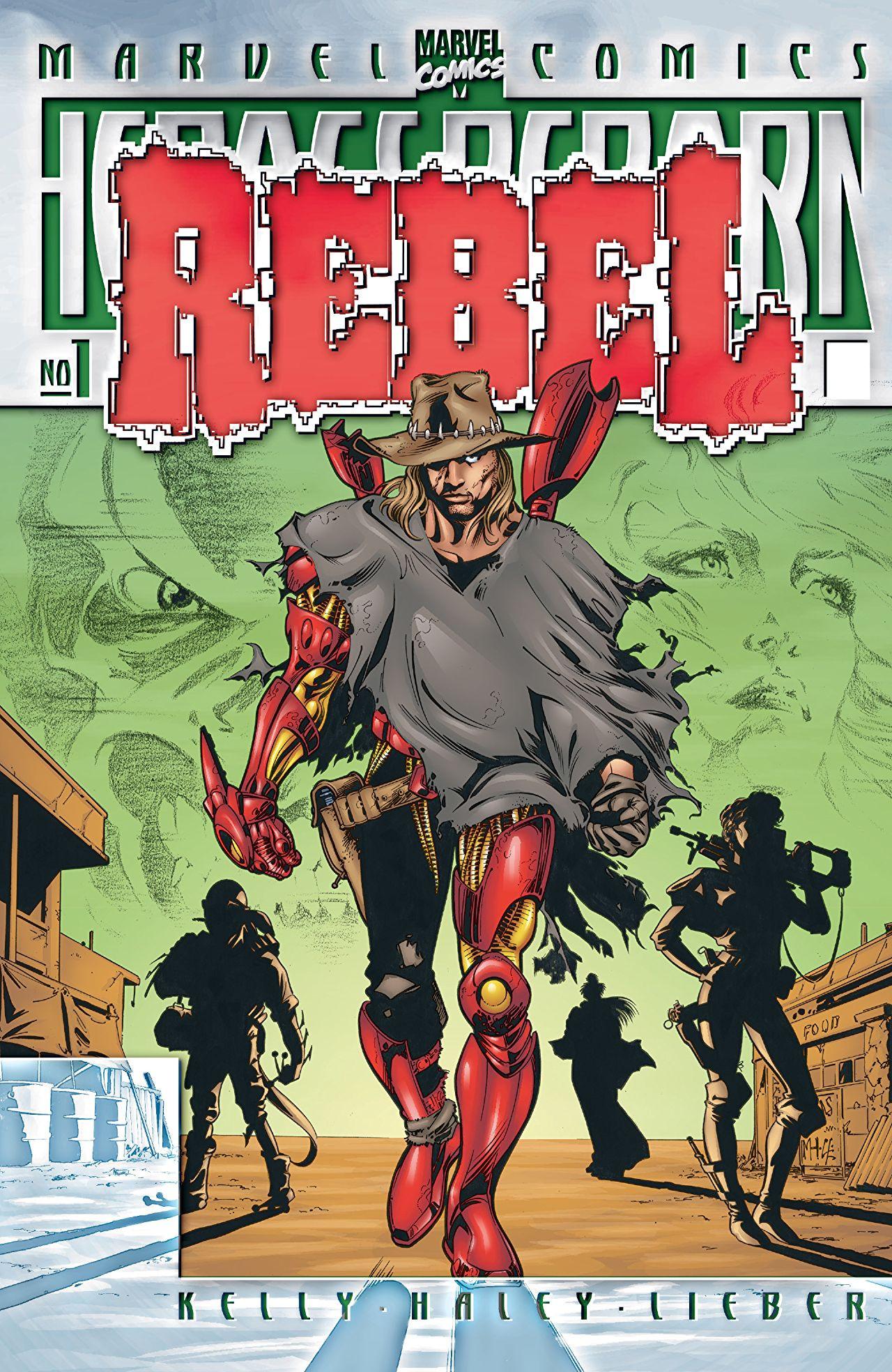 Heroes Reborn: Rebel Vol 1 1