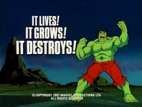 Incredible Hulk (1982 animated series) Season 1 8