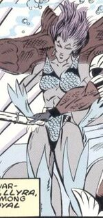 Llyra Morris (Earth-9966) from Fantastic Four Unlimited Vol 1 6.jpg