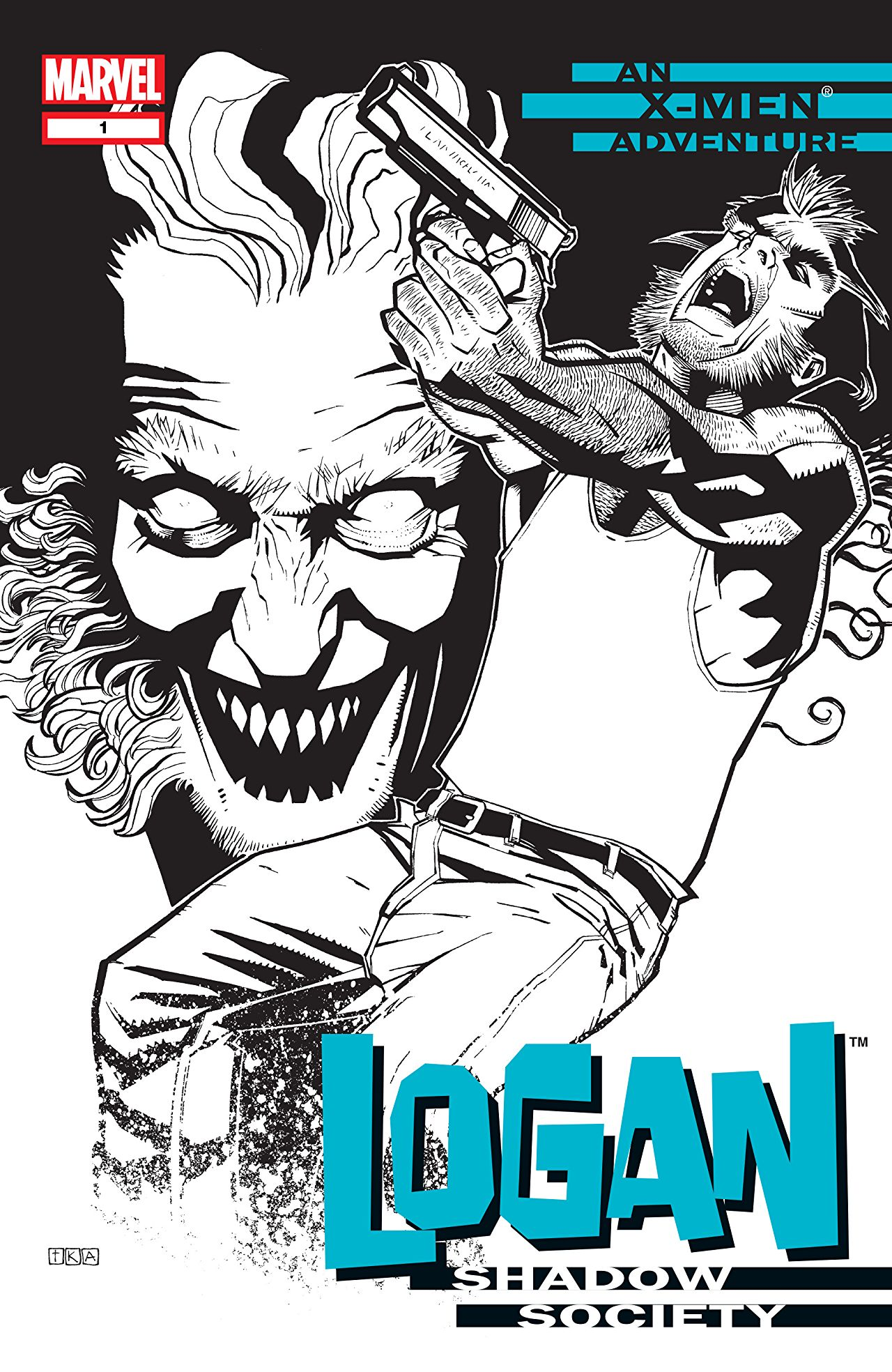 Logan: Shadow Society Vol 1 1