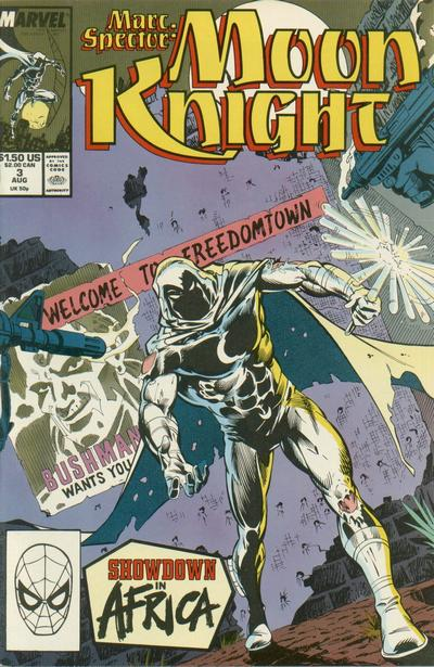 Marc Spector: Moon Knight Vol 1 3