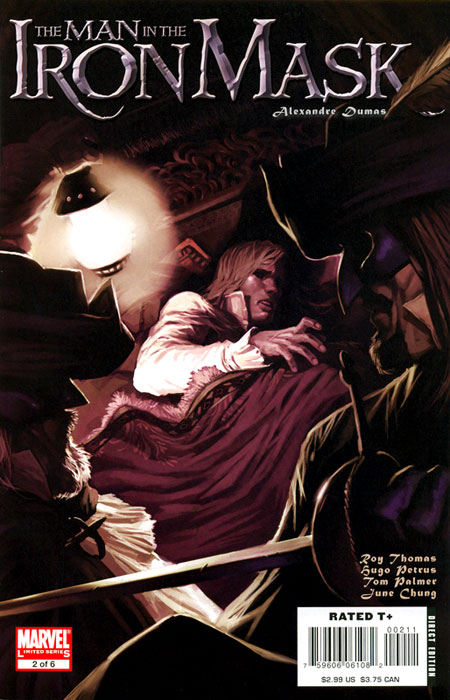 Marvel Illustrated: The Man in the Iron Mask Vol 1 2