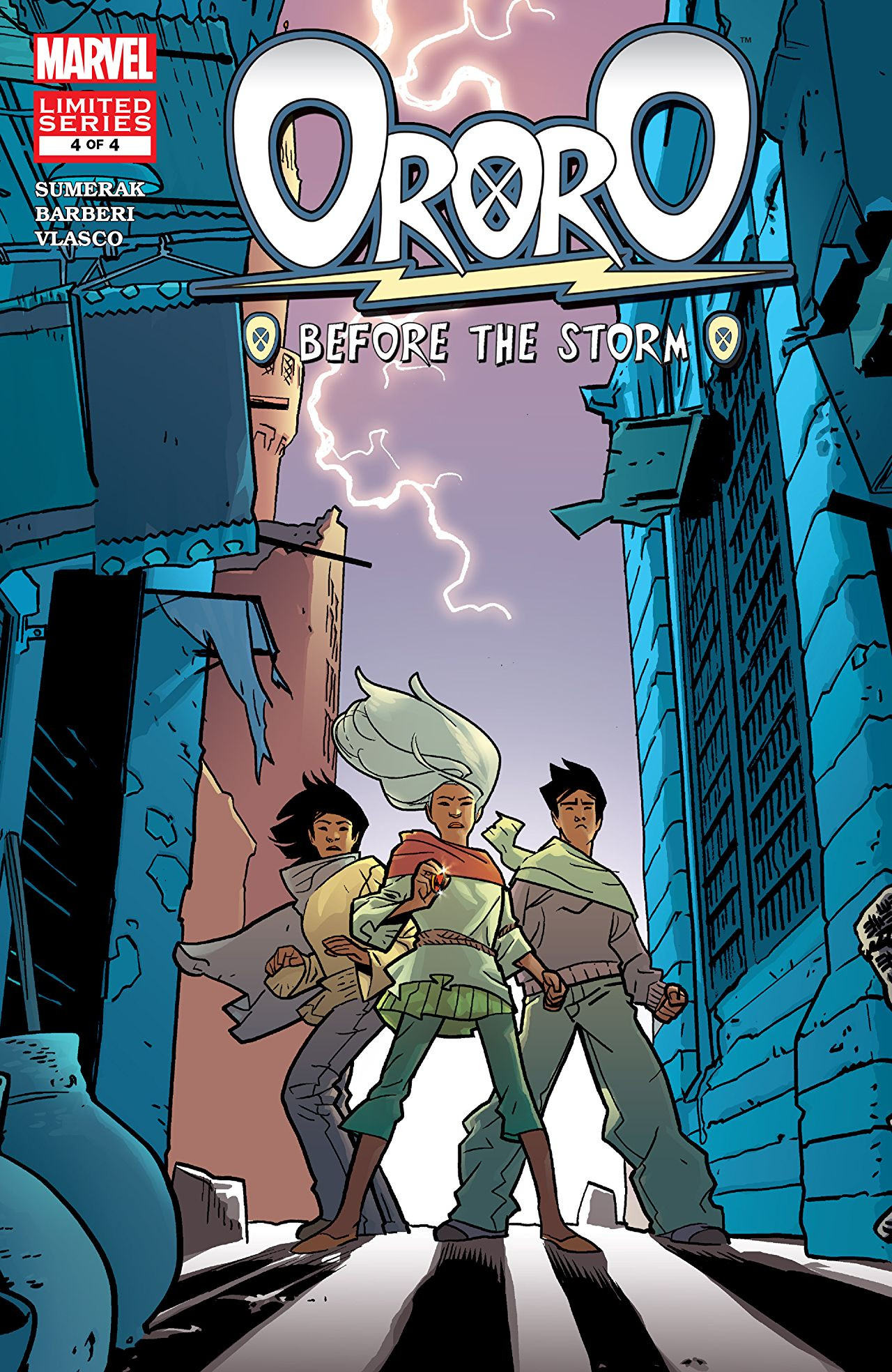 Ororo: Before The Storm Vol 1 4