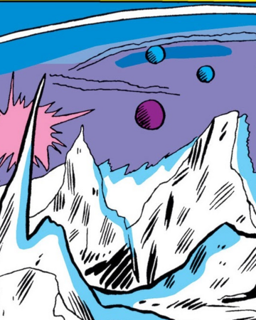 Pluto (Planet) from Avengers Vol 1 14 001.png