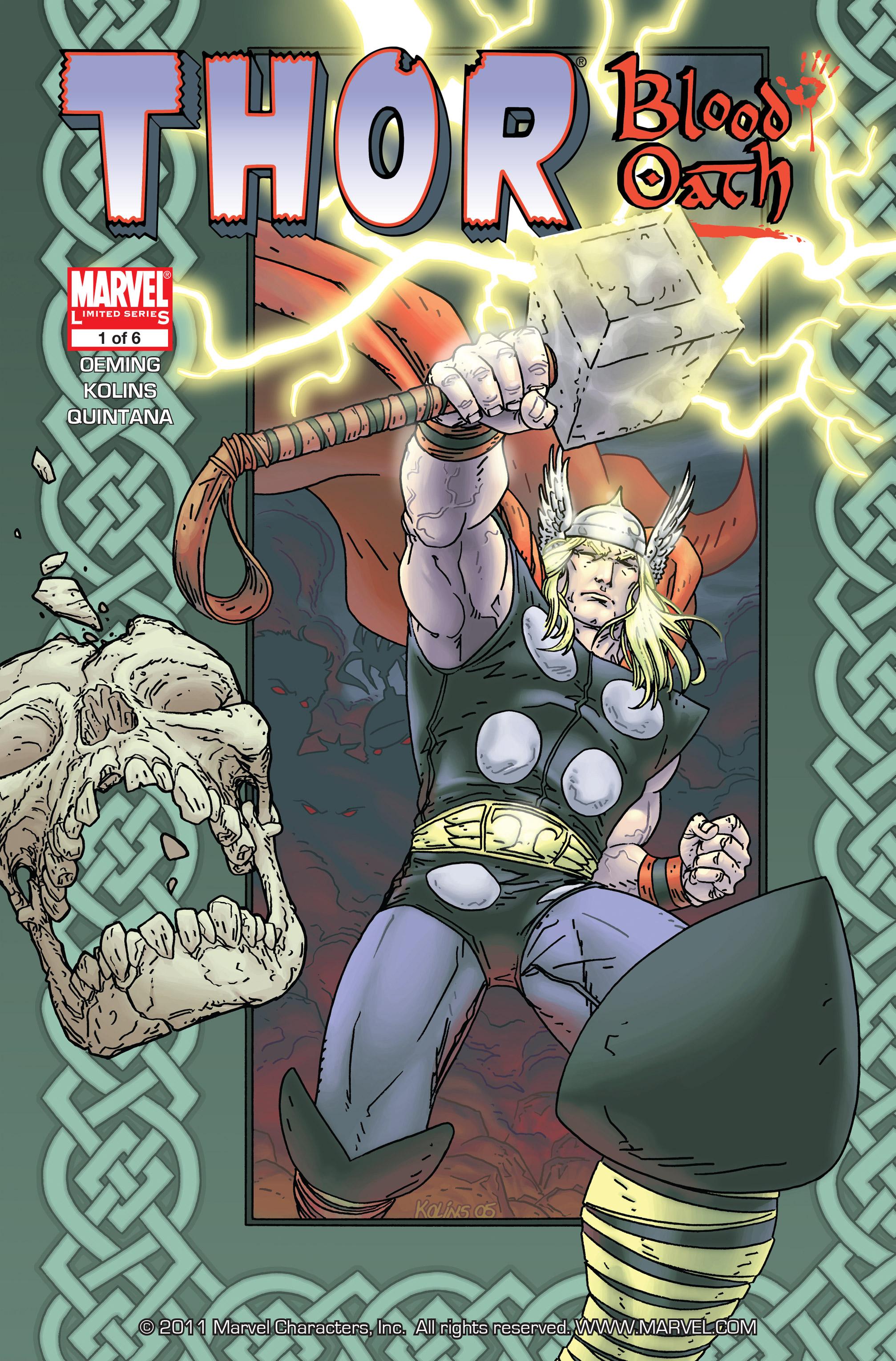 Thor: Blood Oath Vol 1 1