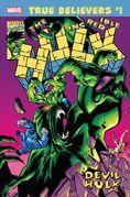 True Believers Hulk - Devil Hulk Vol 1 1