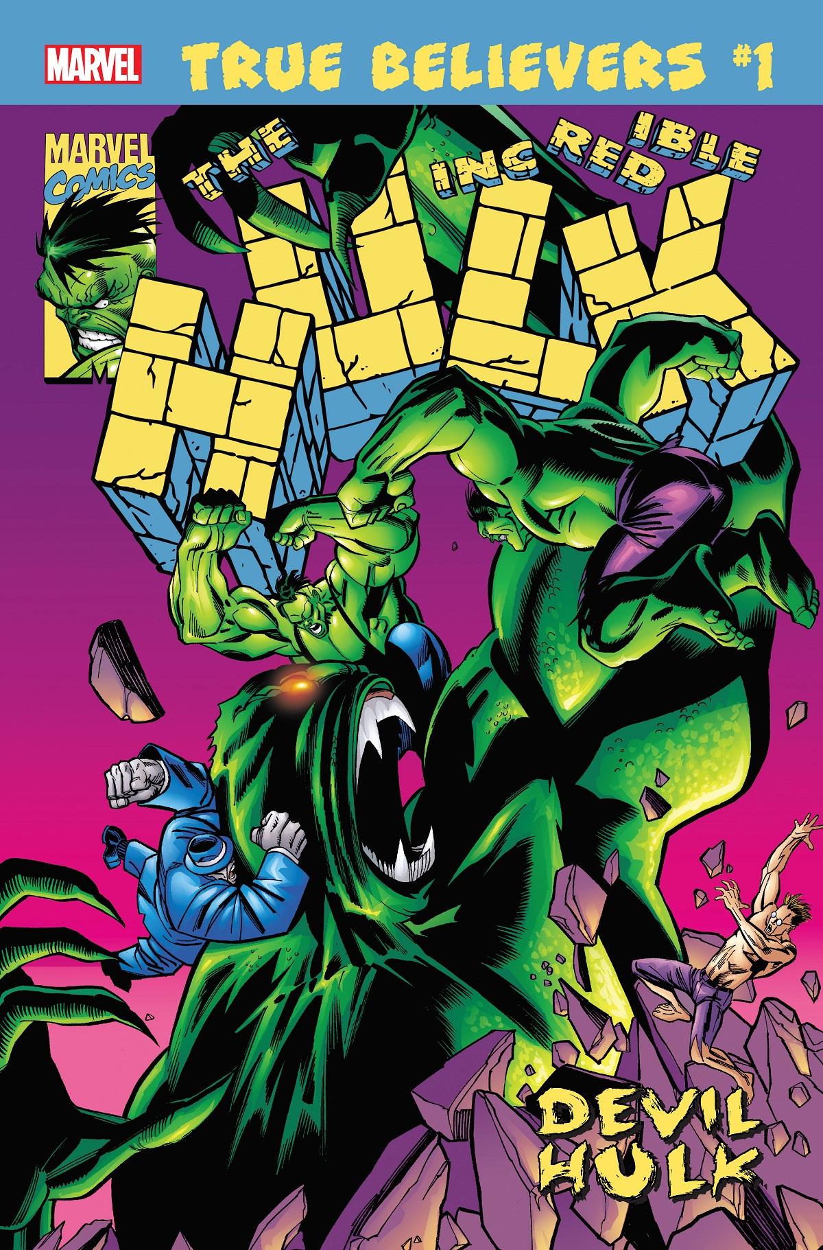 True Believers: Hulk - Devil Hulk Vol 1 1