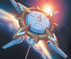 Alpha Flight Low-Orbit Space Station from Captain Marvel Vol 9 1 001.jpg