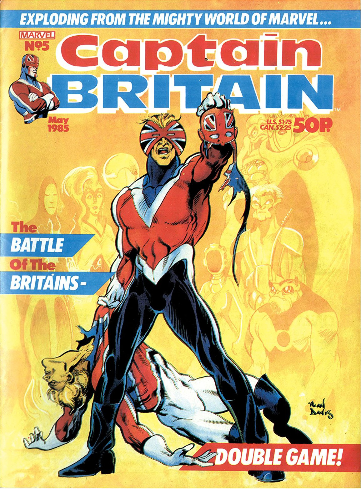 Captain Britain Vol 2 5