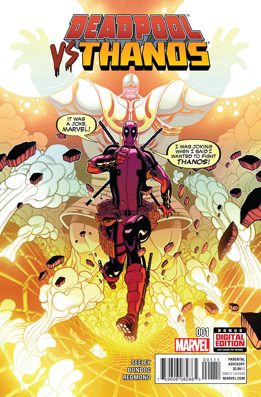 Deadpool vs. Thanos Vol 1 1