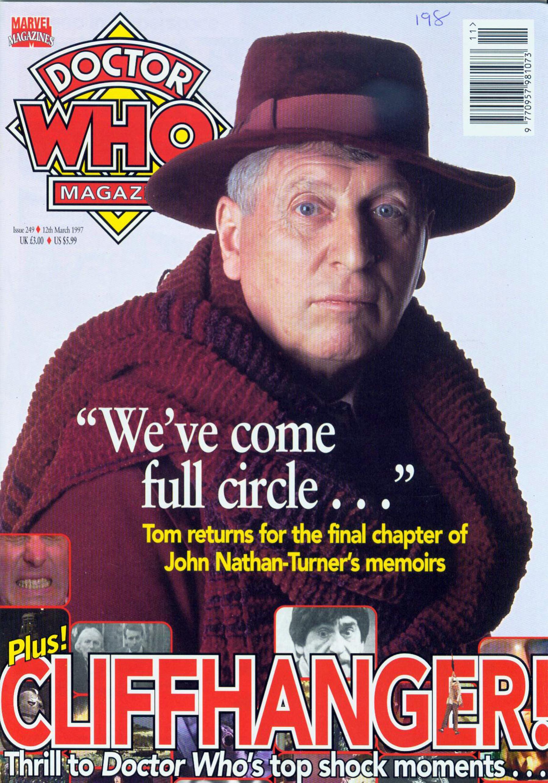 Doctor Who Magazine Vol 1 249