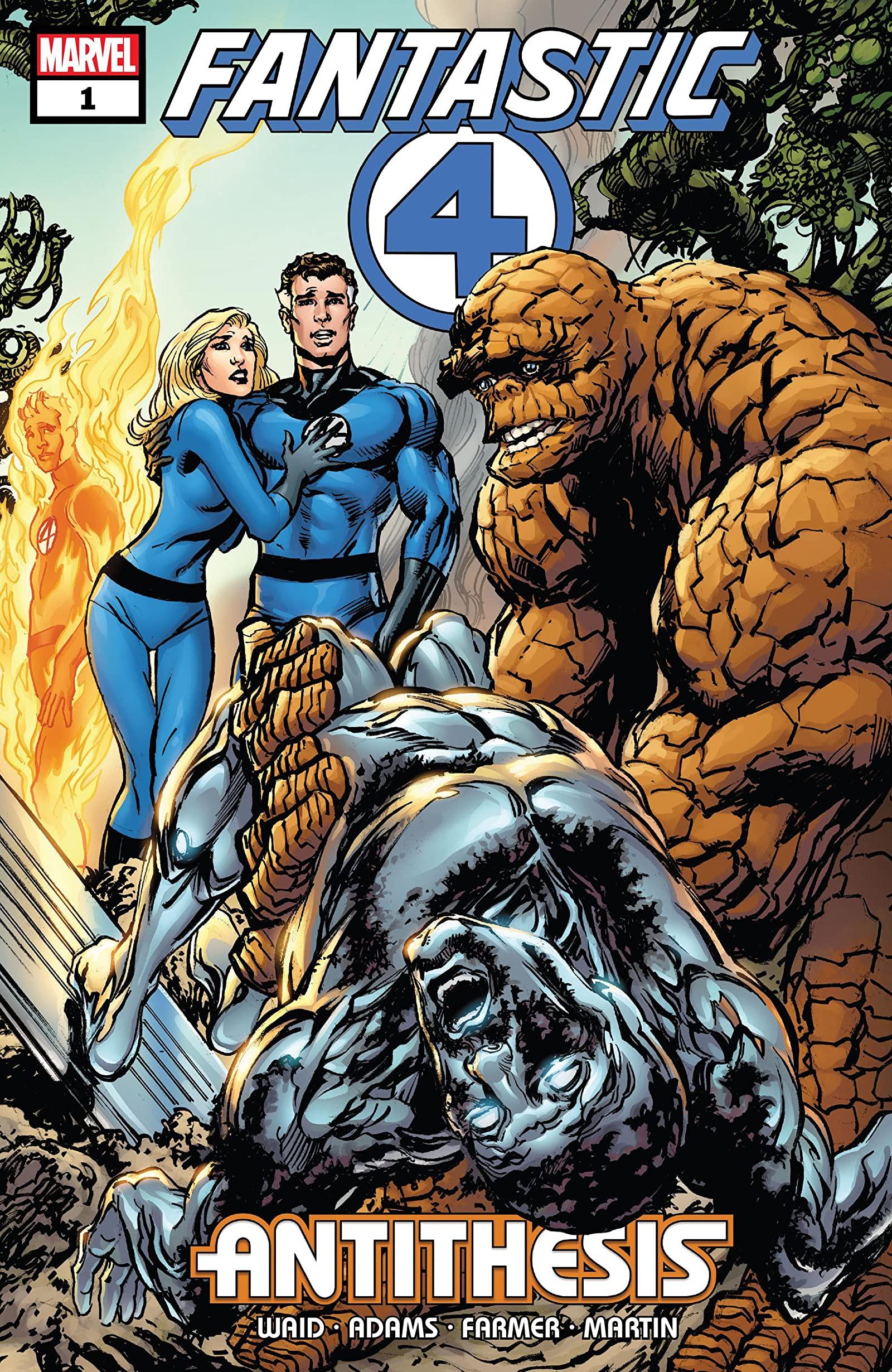 Fantastic Four: Antithesis Vol 1